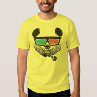 Vintage panda 3-D glasses Shirt