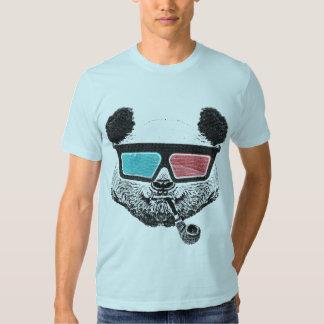 Vintage panda 3D glasses Shirt