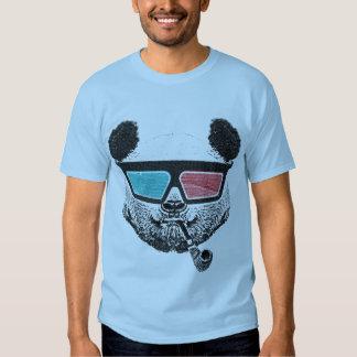 Vintage panda 3D glasses T Shirt