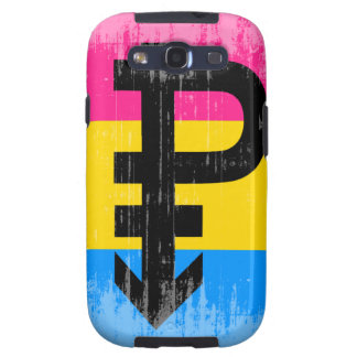 Vintage Pansexual Flag Samsung Galaxy S3 Covers