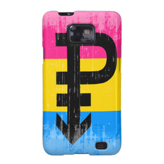 Vintage Pansexual Flag Galaxy SII Covers