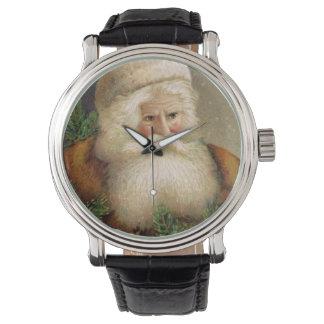 Vintage Papá Noel 11 Relojes De Pulsera