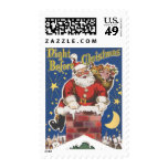 Vintage Papá Noel, noche de Twas antes del navidad Sellos