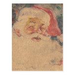 Vintage Papá Noel Postales