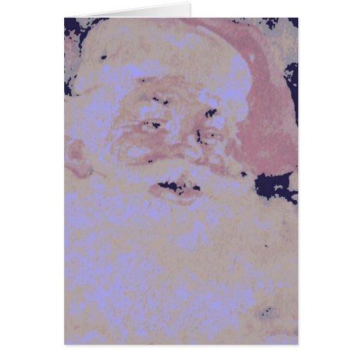 Vintage Papá Noel Tarjetas