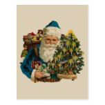 Vintage Papá Noel Tarjetas Postales