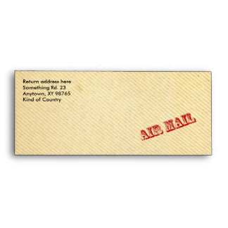 Vintage paper - AIR MAIL Envelope