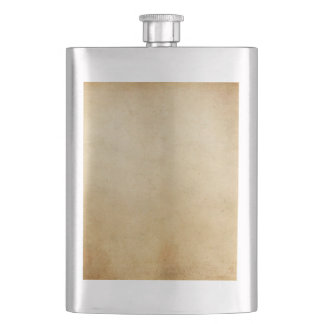 Vintage Paper Antique Gold Parchment Background Flask