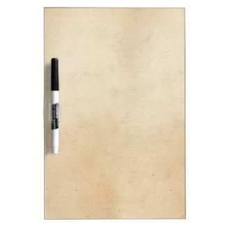 Vintage Paper Antique ParchmentTemplate Blank Dry-Erase Board