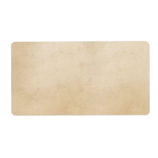 Blank Vintage Label Template Vintage paper antique