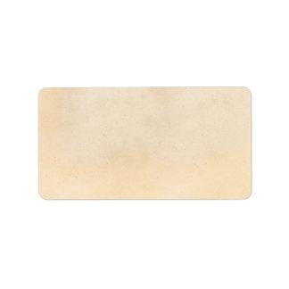 Vintage Paper Antique ParchmentTemplate Blank Label