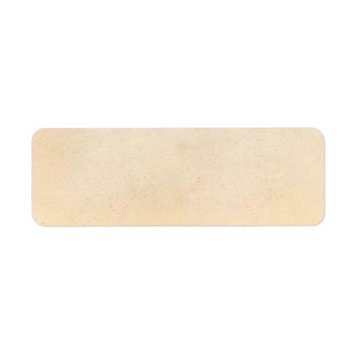 vintage paper antique parchment template blank return address label zazzle. Black Bedroom Furniture Sets. Home Design Ideas