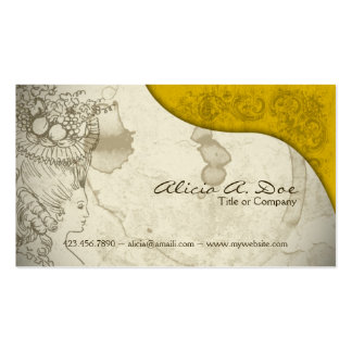 Vintage Paper Double-Sided Standard Business Cards (Pack Of 100)