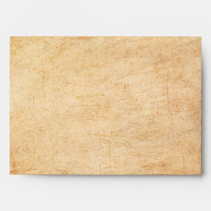 Vintage Paper Envelope