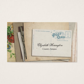 Vintage Paper Ephemera Post Card Fountain Pen