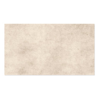 Vintage Paper Parchment Paper Template Blank Double-Sided Standard Business Cards (Pack Of 100)