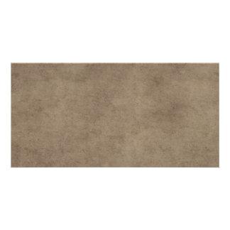 Vintage Paper Parchment Paper Template Blank Photo Card
