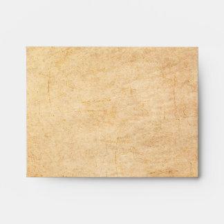 Vintage Paper Square Envelope