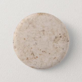 Vintage paper texture bugged pinback button