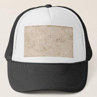 Vintage paper texture bugged trucker hat