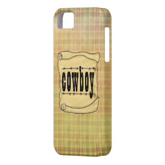 Vintage Paper w/Scroll Cowboy Case-Mate iPhone 5