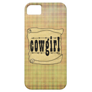 Vintage Paper w/Scroll Cowgirl Case-Mate iPhone 5