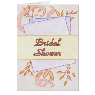 Vintage Paper Wedding Invitation