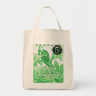 Vintage Papua New Guinea Lemur Tote Bag
