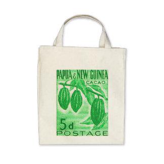 Vintage Papúa Nueva Guinea Bolsa
