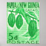Vintage Papúa Nueva Guinea Impresiones