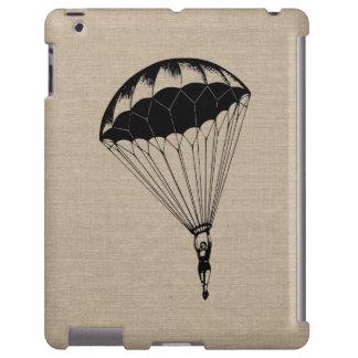 Vintage parachute linen burlap steampunk circus
