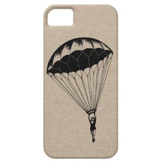 Vintage parachute linen burlap steampunk circus iPhone SE/5/5s case