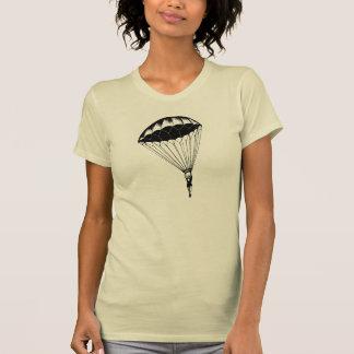 Vintage parachute linen burlap steampunk circus T-Shirt