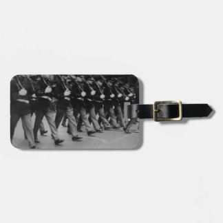 Vintage Parade Soldiers with Rifles Luggage Tag