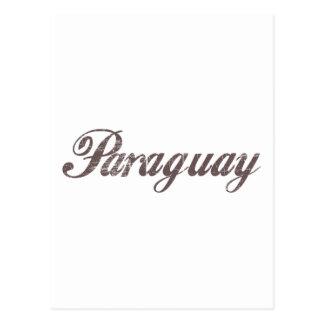 Vintage Paraguay Postcard