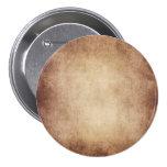 Vintage Parchment Antique Paper Background Custom 3 Inch Round Button