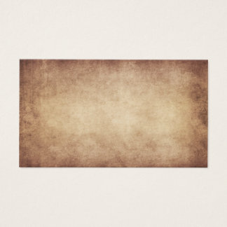 Vintage Parchment Antique Paper Background Custom Business Card