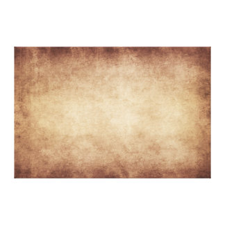 Vintage Parchment Antique Paper Background Custom Canvas Print