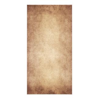 Vintage Parchment Antique Paper Background Custom Card
