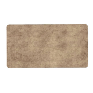 Vintage Parchment Antique Paper Background Custom Label