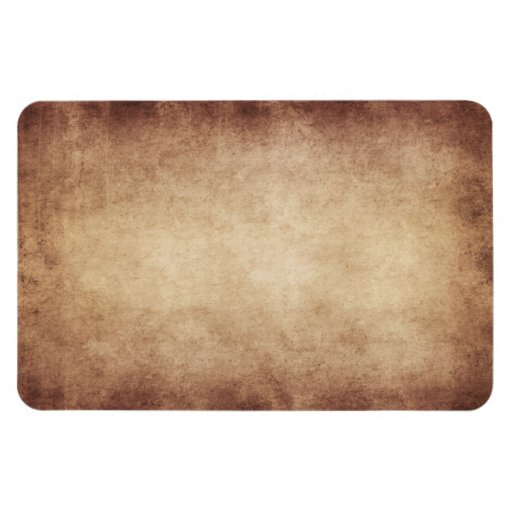 Vintage Parchment Antique Paper Background Custom Rectangular Magnets