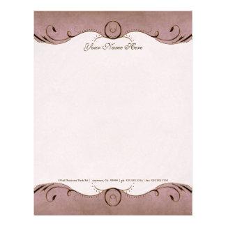 Resume Letterhead custom resume paper Vintage Parchment Look Letterhead Resume Paper