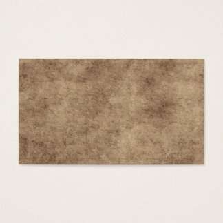 Vintage Parchment or Paper Background Customized Business Card