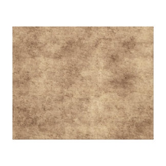 Vintage Parchment or Paper Background Customized Canvas Print