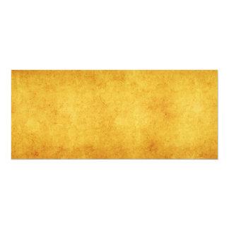 Vintage Parchment Orange Yellow Template Blank Card