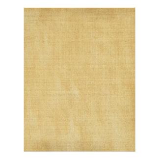 Vintage Parchment Paper Letterhead