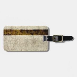 Vintage ParchmentTemplate Blank Bag Tag