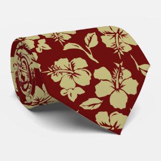 Vintage Pareau Hawaiian Hibiscus Ties