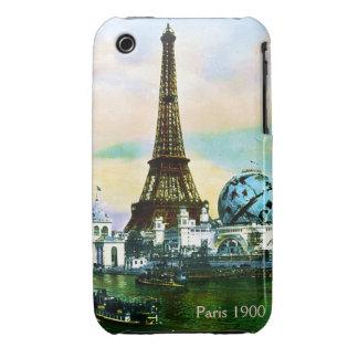 Vintage Paris 1900 iPhone 4 Case