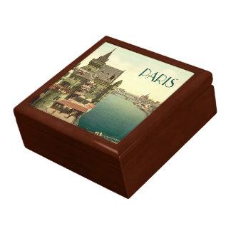 Vintage Paris 1900 s Trinket Box